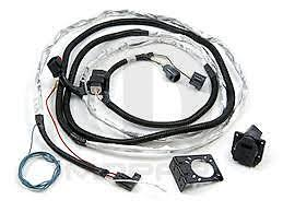2007 2016 jeep wrangler trailer tow wiring harness 7 way mopar oem image is loading 2007 2016 jeep wrangler trailer tow wiring harness
