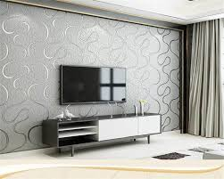 Minimalist Wallpaper For Bedroom With Beibehang Modern Tv Background