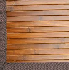 bamboo area rug 8x10 over carpet