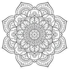 Charming Inspiration Mandala Coloring Pages Free Sheets Printable