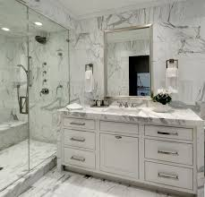 carrara marble bathroom designs. Bianco Carrara Marble Mosaic Tile Contemporary Bathroom Designs W