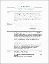 Resume For Teachers Examples Amazing Preschool Teacher Resume Examples Sample Teachers Resume Teacher