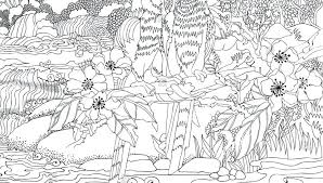 Coloring Pages For Adults Nature Mycoloring