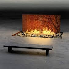 diy outdoor gas fire pit burner inside desert in view cool fire