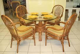 savannah 42 round rattan dining sets teawash