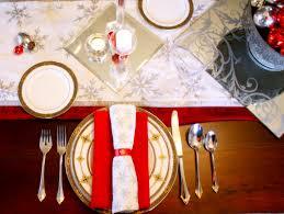 Christmas Table Setting Christmas Table Setting Ideas