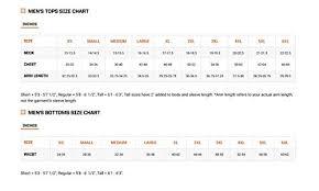 511 Tdu Pants Size Chart 5 11 Mens Stryke Long Sleeve Shirt
