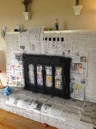 painting brass fireplace doors casual update fireplace doors with spray paint home staging in