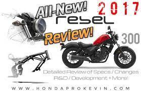 detailed 2017 honda rebel 300 review