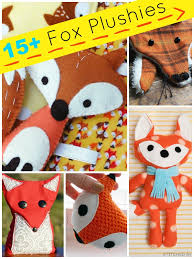 Free Stuffed Animal Patterns Magnificent 48 Fox Stuffed Animal Tutorials Plushie Patterns