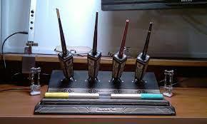 Finally finished my laser cutting pen stand.: lasercutting