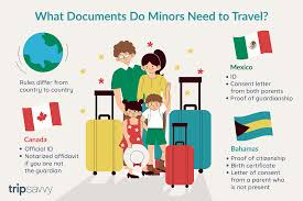 Required Documents For Minors Traveling With One Parent