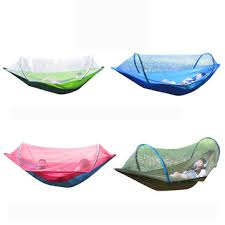 260x150cm <b>outdoor double hammock</b> hanging swing bed with ...