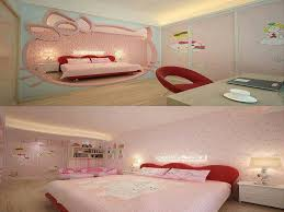 Bedroom: Hello Kitty Bedroom Beautiful 25 Hello Kitty Bedroom Theme Designs  Home Design And -