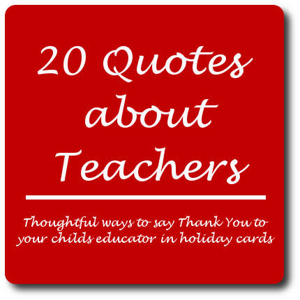 xmas quotes for teachers