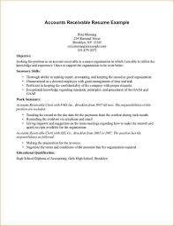 accounts receivable resume sample best business template accounts receivable resume examples 2013 sample customer service intended for accounts receivable resume sample 3319
