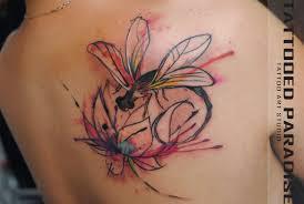 татуировка стрекоза значение эскизы тату и фото