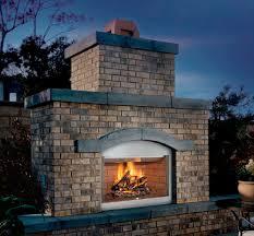 garden open wall mounted fireplace fmi tuscan