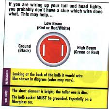 headlight wiring low & high beams hot rod forum hotrodders how to test a headlight switch with a multimeter at Gm Headlight Wiring Diagram