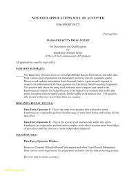 Curriculum Vitae Samples For Data Entry Operator Best Sample Resume