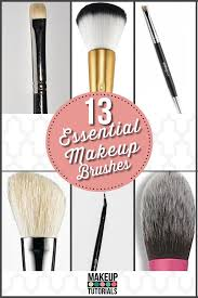 do you know the kinds of makeup brushes what are the makeup brushes and their