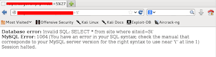 sql injection with sqlmap cybersecurity