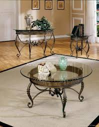 metal and glass coffee table round metal glass coffee tables