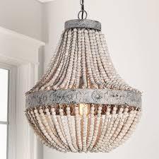 full size of lighting outstanding wooden bead chandelier 2 aged wood beaded jpg c 1516638318 wooden