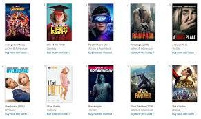 Top 10 Movies Charts 2019 Itunes Top Charts