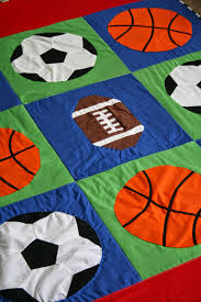 Play ball!!! This quilt was shared on the APQS forum by Annie, and ... & Fly Away Quilts: Applique Basketball Quilt Adamdwight.com