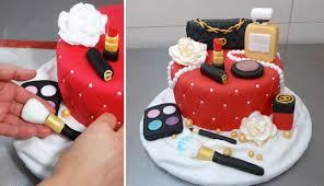 makeup fashion cake how to make torta maquillajes by cakesstepbystep you
