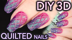 Matte quilted nails the EASY DIY WAY - YouTube &  Adamdwight.com