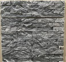 black and grey wooden grain marble stone veneers cultured stone tiles wall cladding decor stacked stone glued slate stone wall cladding panels loose