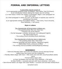 formal letter example official letter 8 download documents in pdf
