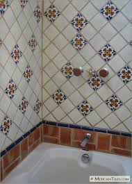 Mexicantiles Com Bathroom Shower Wall And Tub With Seville