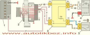 generanor jpg генератор и горит лампочка схема