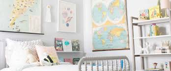 A Travel Inspired Big Girl Room