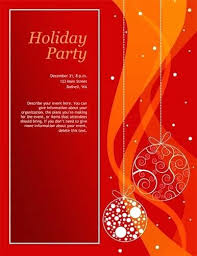 Auction Invitations Christmas Party Poster Template Free Lovely Holiday Dinner And