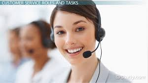 Customer Service Department Role Tasks Video Lesson