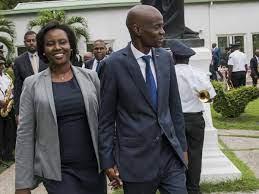 Haitian leader's widow blames political ...