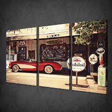 vintage canvas wall art uk