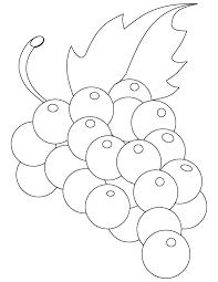 Grapes Coloring Page Grapes Coloring Sheet Raisins Page Girl Pages