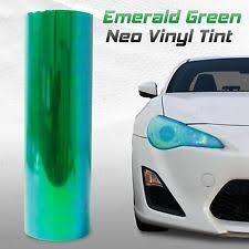 mazda protege5 headlight tail light covers 12 x48 chameleon neo green headlight fog light taillight vinyl tint film t fits mazda protege5