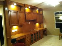 office task lighting. Home Office Built Ins Cabinets With In Display And Task Lighting