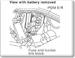 2003 g35 sedan a low beam headlight bulb drivers side fuse box did you check the fuses in teh ipdm er next to the battery this has fuses for the head lamps let me know thanks graphic