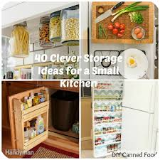 Very Small Kitchen Storage Ideas