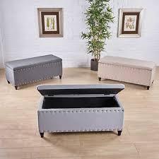 Light gray living room furniture Grey Couch Iris Storage Bench Costco Wholesale Light Gray Living Room Furniture Costco