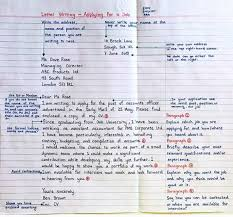 job application letter sle