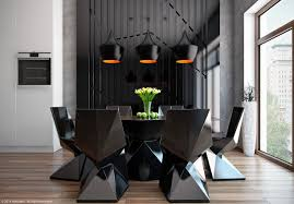 living room furniture 2014. Modern Dining Room Design With Dark Color Concepts Living Furniture 2014