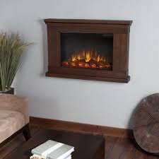 image of real flame jackson 38 in wall mount slim line electric fireplace regarding wall